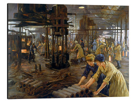 Aluminium print  The Munitions Girls - Stanhope Alexander Forbes
