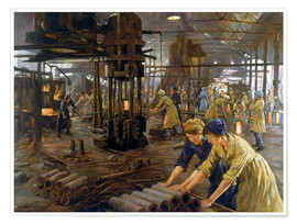 Premium poster  The Munitions Girls - Stanhope Alexander Forbes