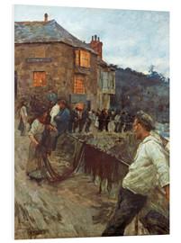 Forex  The wharf in Newlyn - Stanhope Alexander Forbes