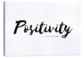 Canvas  positivity is the key to happiness - Ohkimiko