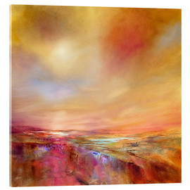 Acrylic print  touch the sky - Annette Schmucker