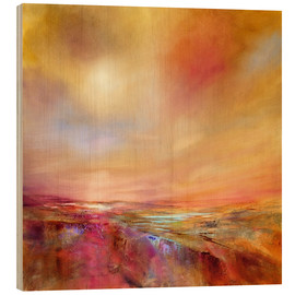 Wood print  touch the sky - Annette Schmucker