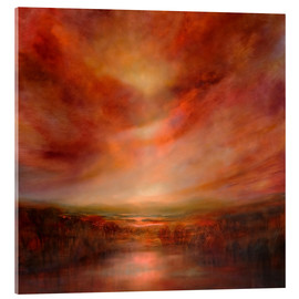 Acrylic print  evening glow - Annette Schmucker