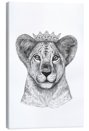 Canvas print  The lion prince - Valeriya Korenkova