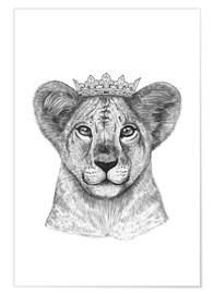 Poster  The lion prince - Valeriya Korenkova