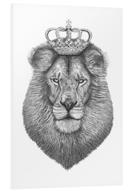 Foam board print  The King - Valeriya Korenkova