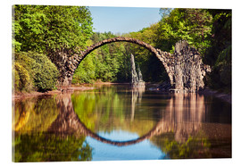 Acrylic print  Devil Bridge, Kromlau