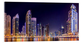 Acrylic glass  Panoramic view - Dubai Marina Bay