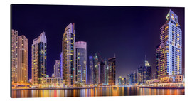 Alu-Dibond  Panoramic view - Dubai Marina Bay