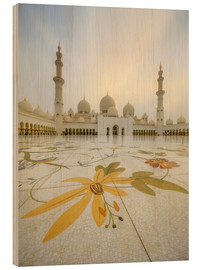 Wood  Courtyard of Sheikh Zayed Grand Mosque