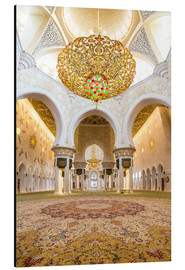 Alu-Dibond  Gold sheen of the Sheikh Zayed Mosque