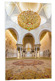 Forex  Gold sheen of the Sheikh Zayed Mosque