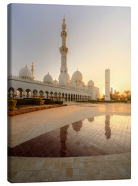 Canvas print  Sheikh Zayed mosque