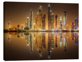 Canvas  Reflections Dubai Marina Bay