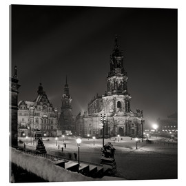 Dresden Frauenkirche in winter