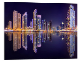 Forex  The beauty of the marina in Dubai