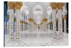 Alu-Dibond  famous Sheikh Zayed mosque