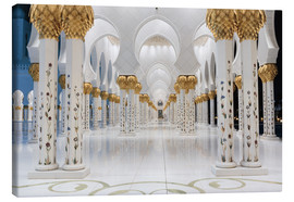 Canvas  famous Sheikh Zayed mosque