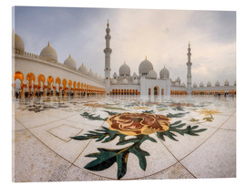 Acrylic glass  Place of the Sheikh Zayed Grand Mosque