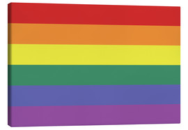 Canvas  Gay pride flag