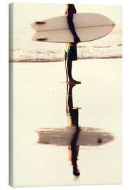 Canvas  Surfer reflection