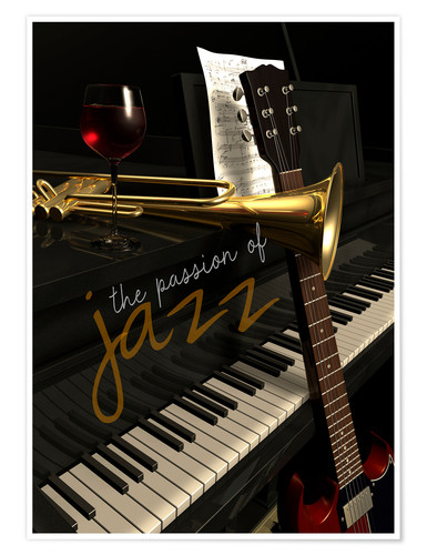 Premium poster passion of Jazz