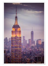 Premium poster Empire State Building New York