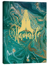 Canvas print  Namaste - Mandy Reinmuth