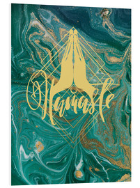 Foam board print  Namaste - Mandy Reinmuth