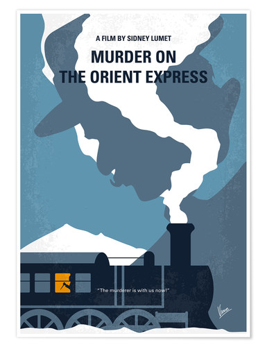 Premium poster Murder on the orient express