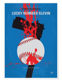 Premium poster No880 My Slevin minimal movie poster