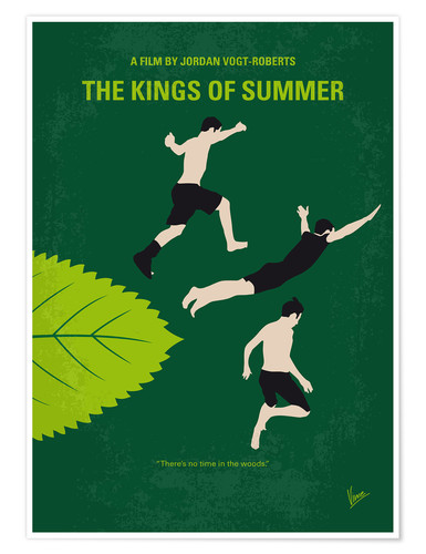 Premium poster No865 My The Kings of Summer minimal movie poster