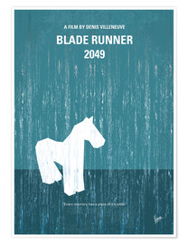 Premium poster No881 My Blade runner 2049 minimal movie poster