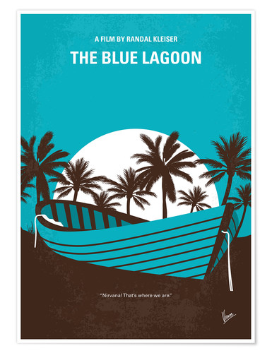 Premium poster The Blue Lagoon