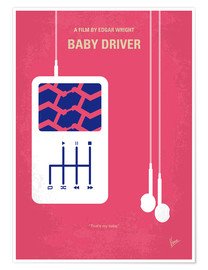 Premium poster Baby Driver
