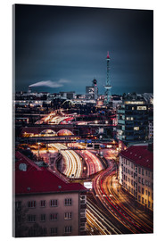 Acrylic print  Berlin City West Radio Tower - Sören Bartosch