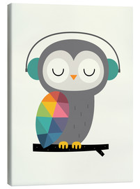 Canvas print  Owl time - Andy Westface