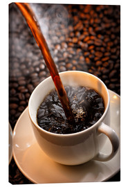 Canvas print  Freshly cooked coffee - Johan Swanepoel