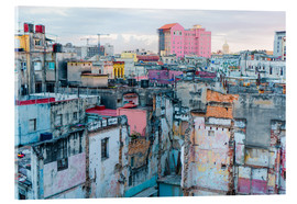 Authentic view of a street of Old Havana