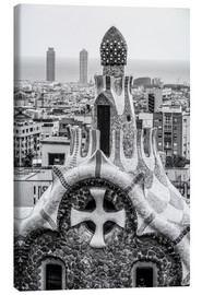 Canvas  Impressive architecture and mosaic art at Park Guell