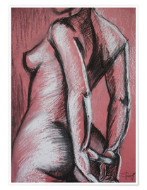 Carmen Tyrrell - Graceful Pink - Female Nude