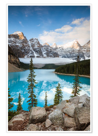 Premium poster Autumn at Moraine lake, Canada