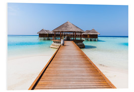 Forex  Jetty and overwater bungalows, Maldives - Matteo Colombo