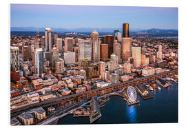 Forex  Aerial view of Seattle skyline, USA - Matteo Colombo