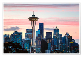 Matteo Colombo - Space Needle and Seattle skyline, USA