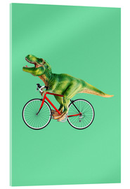 Acrylic glass  BIKE T REX - Jonas Loose