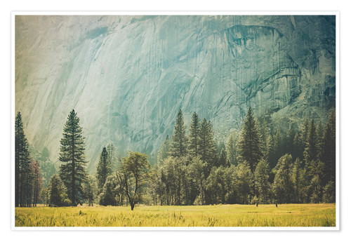Premium poster Yosemite Valley