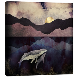 Canvas print  Mother and child - SpaceFrog Designs