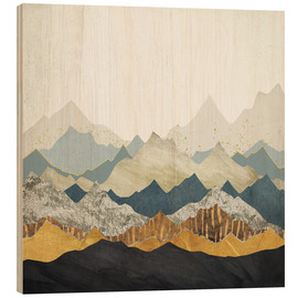 Wood  Distant Peaks - SpaceFrog Designs