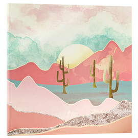 Acrylic print  Desert Mountains - SpaceFrog Designs